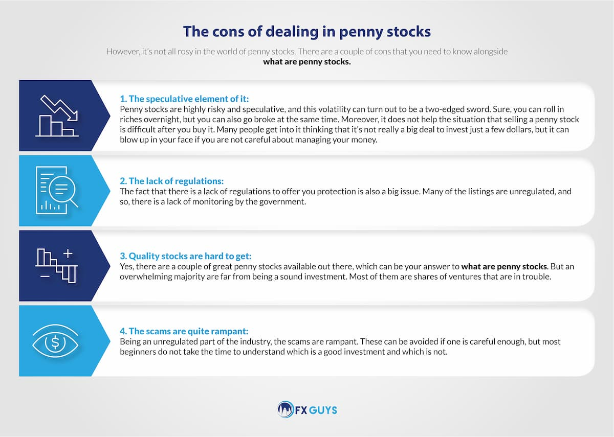 The Cons of Dealing in Penny Stocks