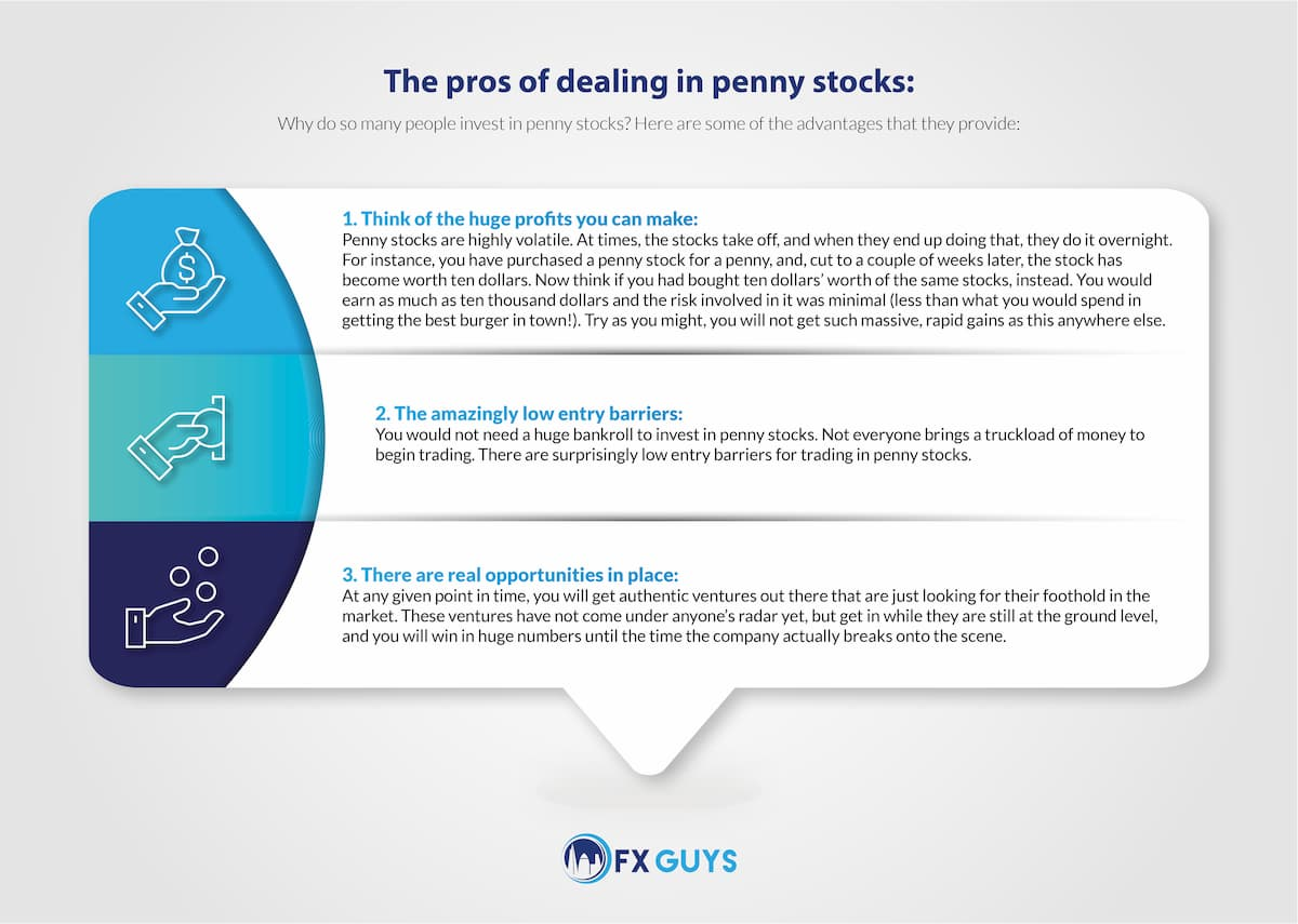 The Pros of Dealing in Penny Stocks
